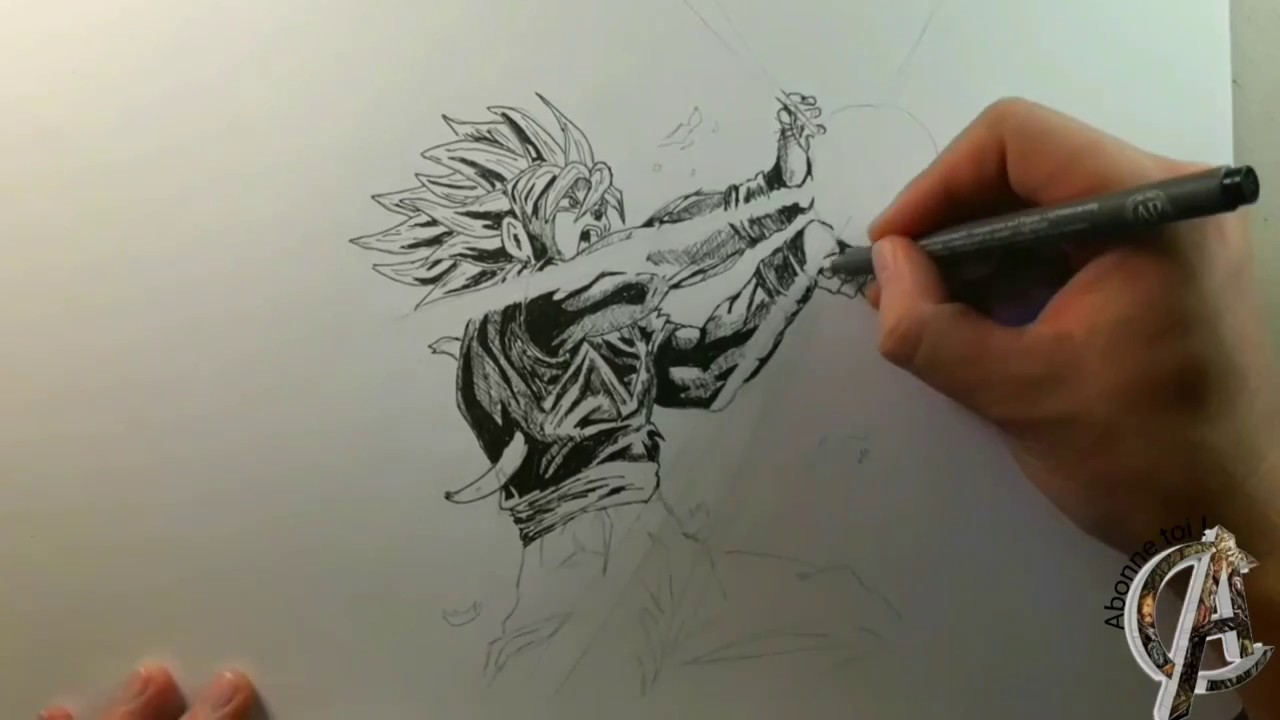 Dessin De Sangoku Youtube