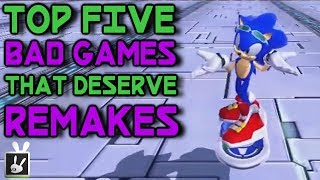 Top Five Bad Games That Deserve Remakes