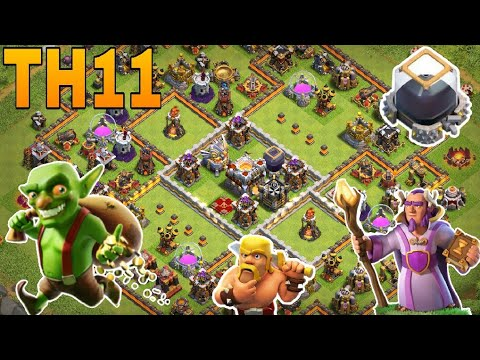 th11 farming base 2018 /coc th11 dark protection Base 2018/ trophy base /clash of clan