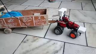 Rc arjun velly pulling speaker and tralla