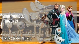 EASY Oboe Sheet Music: How to play Show Yourself (Frozen 2) by Idina Menzel