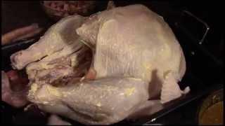 Como hacer el pavo el dia de accion de gracias(Happy Thanksgiving)