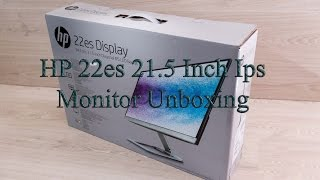 """HP-22es 21.5"""" IPS LED HD Monitor Unboxing & Review by BD IT TUTORIAL"""