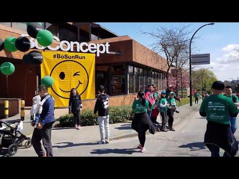 Vancouver WALK & EVENT: 2018 VANCOUVER SUN RUN 10K, Pt. 10 - K8 (W. 6th Ave)