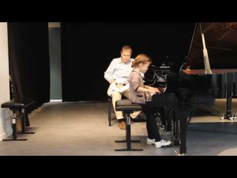 Lyadov Barcarolle op.44 (Karina Ter-Gazarian 10yo) on Kevin Kenner masterclass