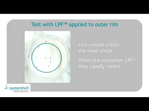 Aversive effect of LPF™ to lice
