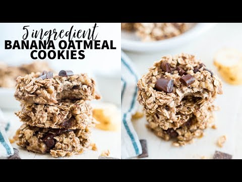 How to Make Healthy Banana Oatmeal Cookies