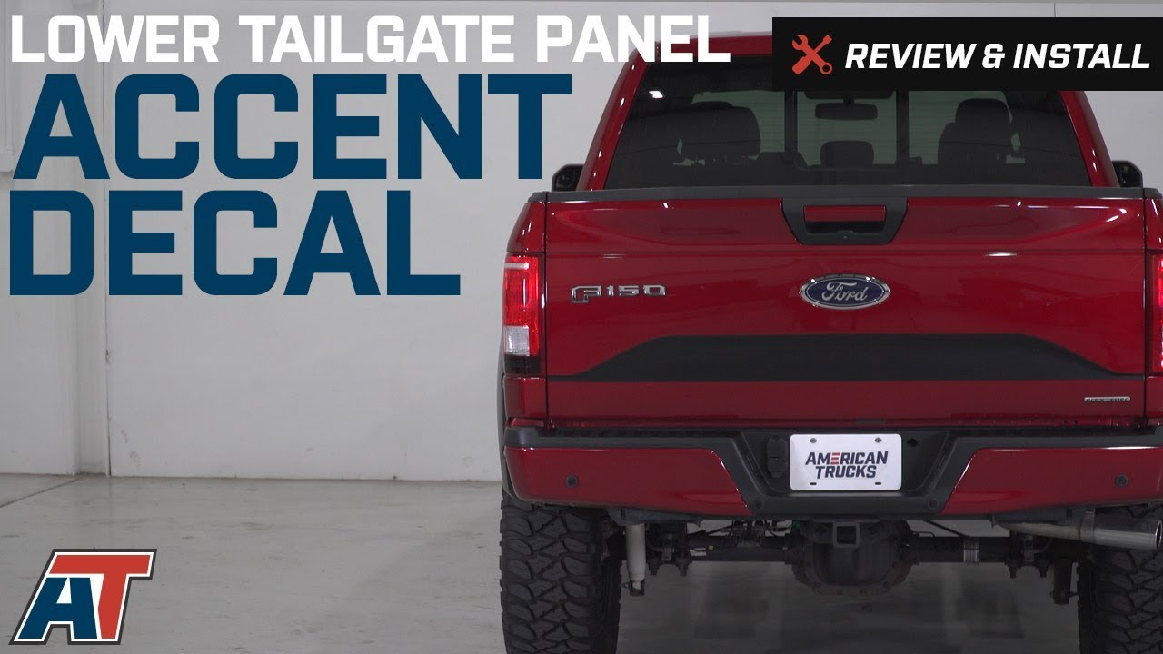 2015 2017 F150 American Muscle Graphics Lower Tailgate