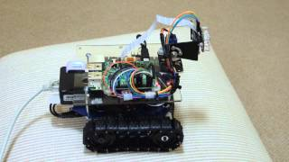 raspberry pi web browser controlled robot see description for a link to the complete build video