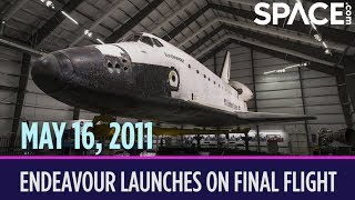 OTD in Space – May 16: Space Shuttle Endeavour Launches on Final Flight