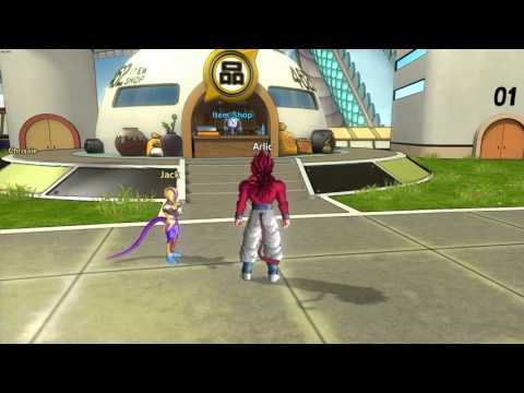 Xenoverse Tail in Lobby