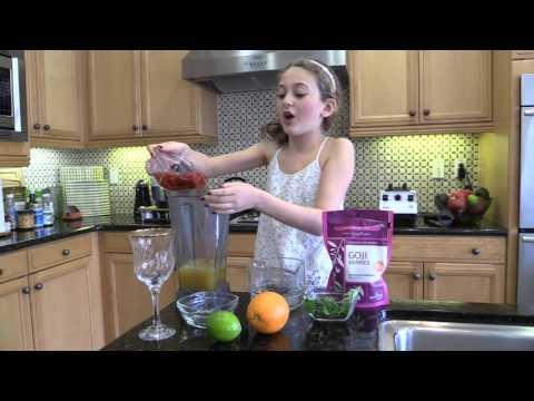 Superfood Kids Immune Boost!- Orange Goji Lime Drink