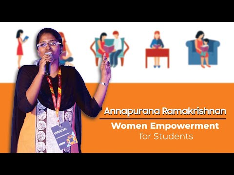 Speech on Women Empowerment for Students | ANNAPURANA RAMAKRISHNAN