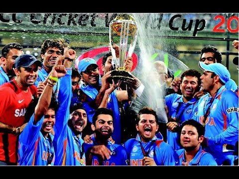 Indian Team Dressing Room Celebrations 2011 Worldcup Youtube