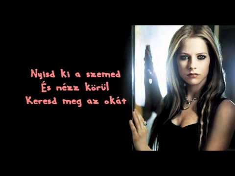 Avril Lavigne - Nobody's Home (A senki otthona) [magyar]