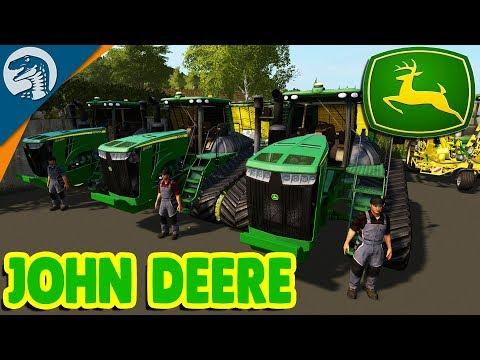 INSANE AMERICAN TRACTOR & HUGE EPIC HARVESTER | Farming Simulator 17 Multiplayer Gameplay