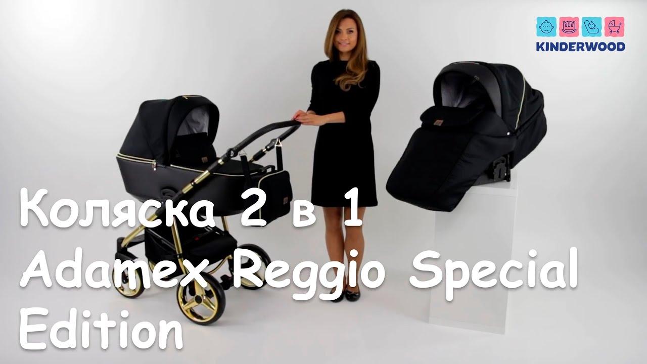 Коляска Adamex Reggio Special Edition