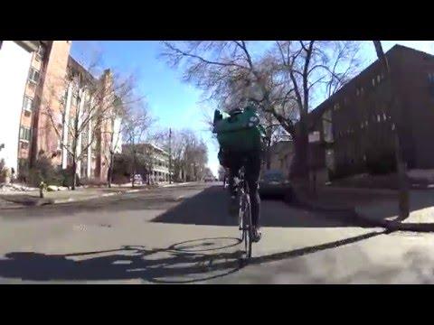 Day as a Denver bike messenger