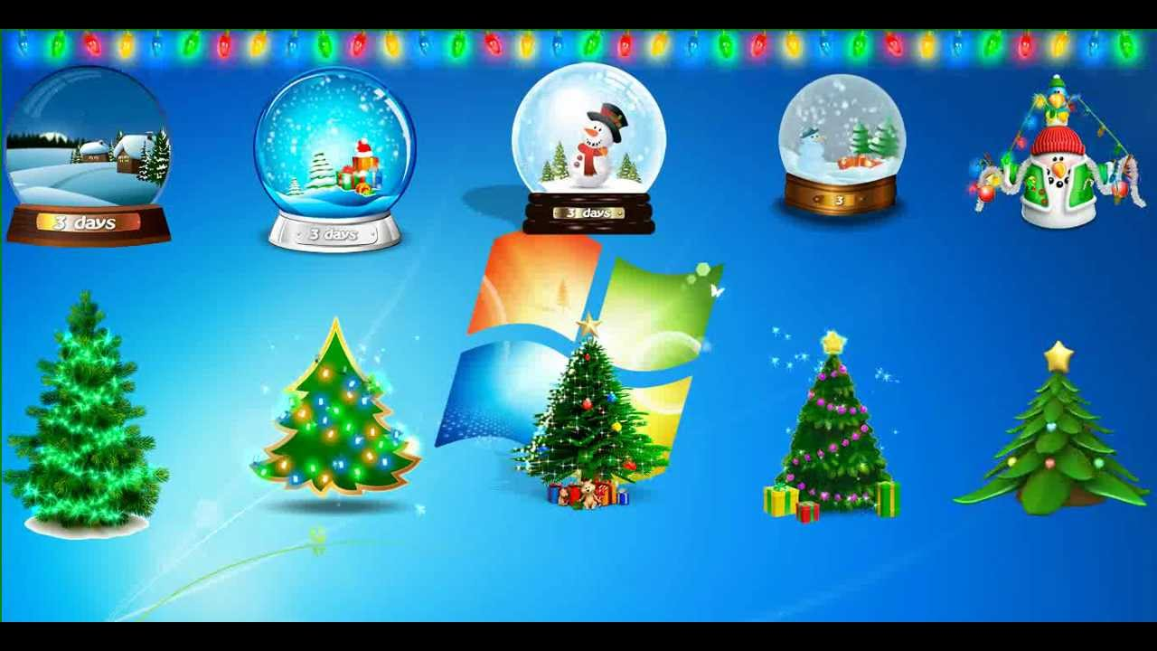 animated christmas tree for desktop merry christmas youtube - Animated Christmas Tree