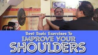 Best Basic Exercises To Improve Your Shoulders