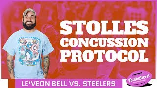 Stolle's Concussion Protocol: Bell vs. Steelers & Bosas NFL-Flucht | Footballerei