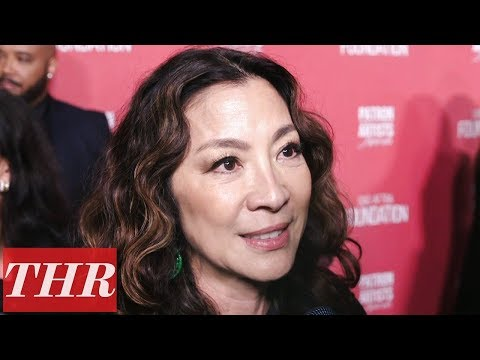 Michelle Yeoh Explains the Importance of SAG-AFTRA & the Need to Support Fellow Actors | THR