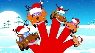 Rentiere Finger Familie | Weihnachtslieder | Christmas Songs | Xmas Rhymes | Reindeer Finger Family