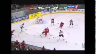 Хоккей Латвия - Россия 1:4 Чемпионат Мира 2014