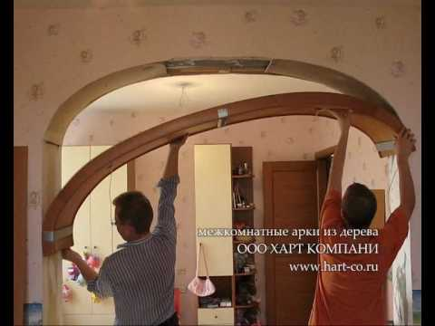 Как из дерева сделать арку из 99
