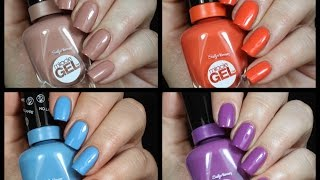 Sally Hansen Miracle Gel Polish Live Swatch + Review!!