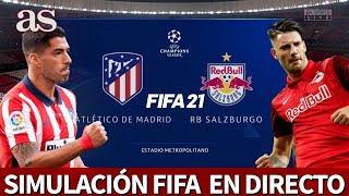 ATLÉTICO vs. RB SALZBURGO | FIFA 21: simulación del partido de fase de grupos de la Champions | AS