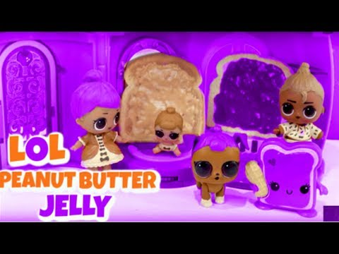 DIY LOL Surprise Peanut Butter MOM Makeover Barbie Doll Family Craft Video (Cookie Swirl C)