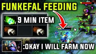 Funkefal - Feeding Invoker On Purpose |But When He Start To Give His 100% Rip All Best Tinker Dota 2