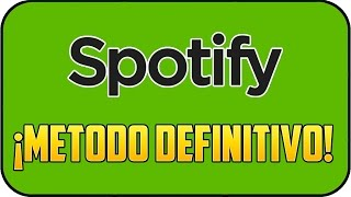 ♫ Descargar canciones de Spotify en un click [Super Fácil][2016] ♫