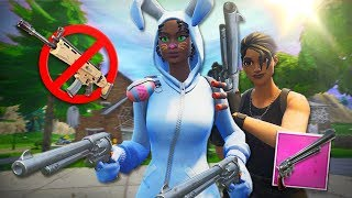 ONLY *SCHIEßEISEN* CHALLENGE! 😠 | Fortnite Battle Royale