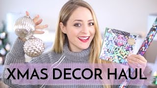 CHRISTMAS Decor Haul | Fleur De Force