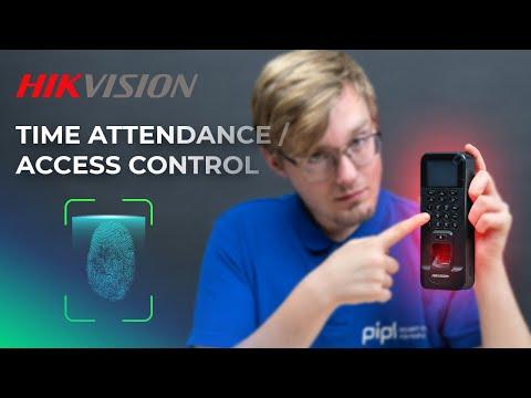 Hikvision Fingerprint Time Attendance & Access Control Terminal IVMS & SADP Setup