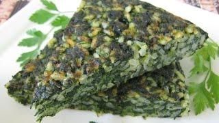 Torta Di Riso Agli Spinaci - Spinach Rice Pie