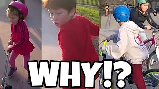 Kids Like These Should NOT Be At A Skatepark