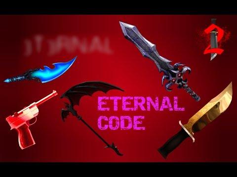 SECRET GODLY CODES #2!!  (Rarest Knives!!!) | Murder Mystery 2