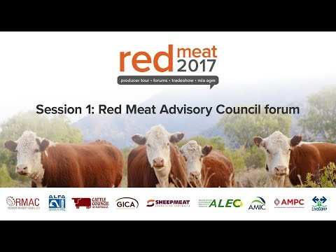 Red Meat Industry Forum - Session 1: Working for Central & Northern Australia