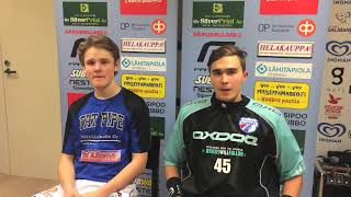 ÅIF - Rangers pelaajahaastattelu