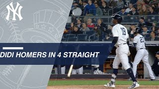 Didi Gregorius homers in four straight games