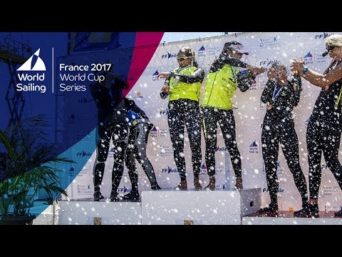LIVE Sailing  World Cup Series Hyères   Saturday Medal Races