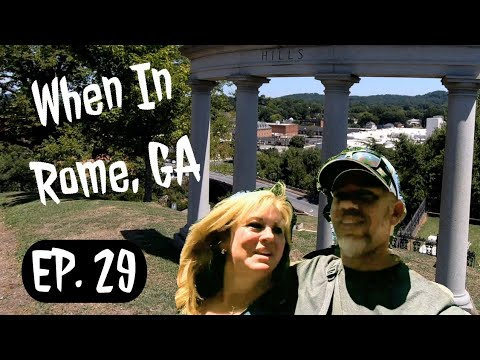 Walking around downtown Rome, GA | Day trip in Georgia