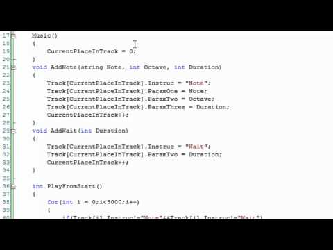 C++ Music System Project - Part One