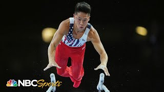 Yul Moldauer's top moments from world gymnastics team final | NBC Sports