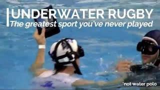 What is underwater rugby? - Promotional video