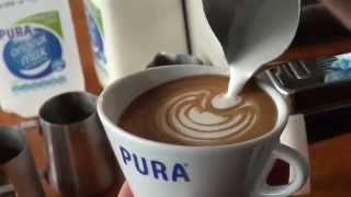 2014 Australian Latte Art Champion Rie Moustakas