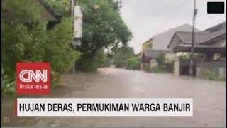 Penampakan Banjir di Kawasan Bekasi
